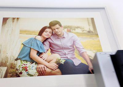 Impressão de fotografia em pvc
