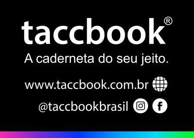 taccbook® - a caderneta do seu jeito
